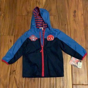 NWT Spider-Man Jacket